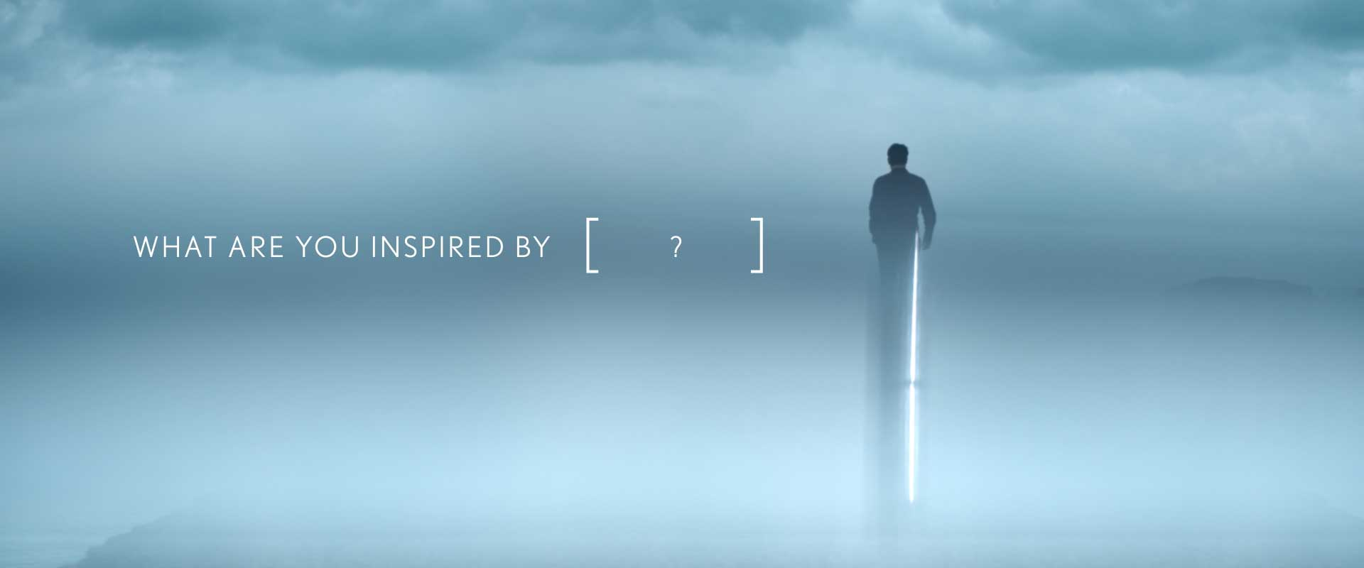 What are you inspired by? Still from Lexus Commercial.