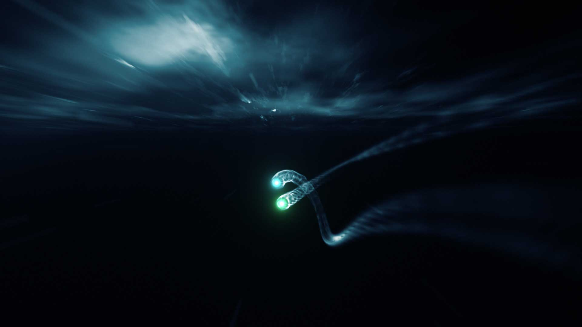 Light effects. Still from Lexus Hybrid Drive Commercial