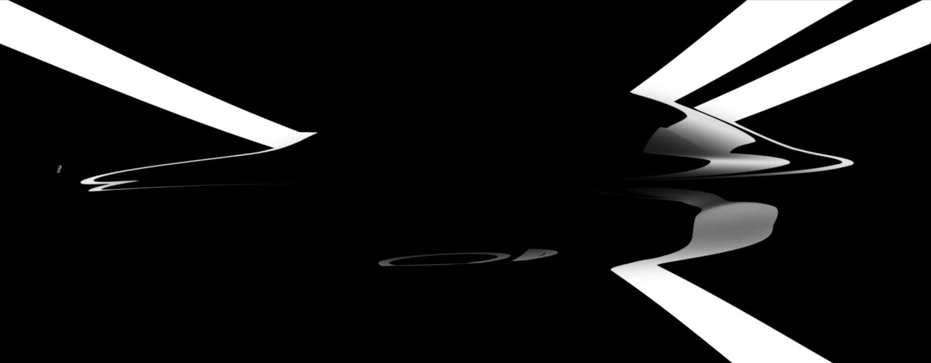 Silhouette shapes. Still from Mercedes-Benz Commercial.