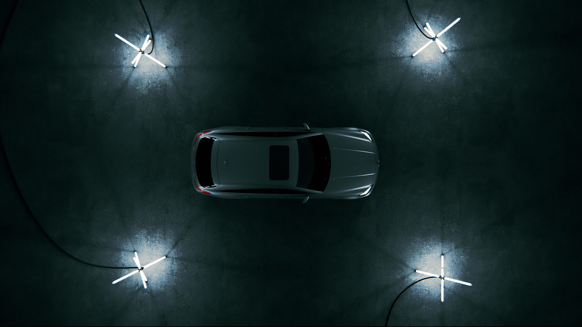 Topview Mercedes-Benz CLS promotion movie.