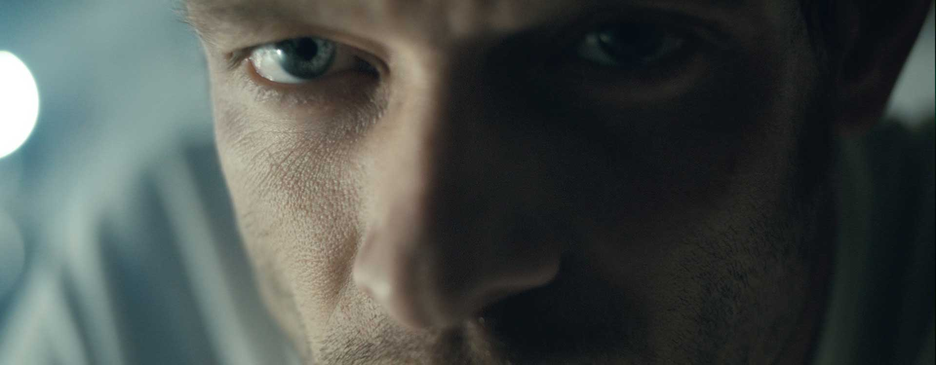 Eyes. Still from Toyota Hybrid Racing - Commercial Barbeque Design